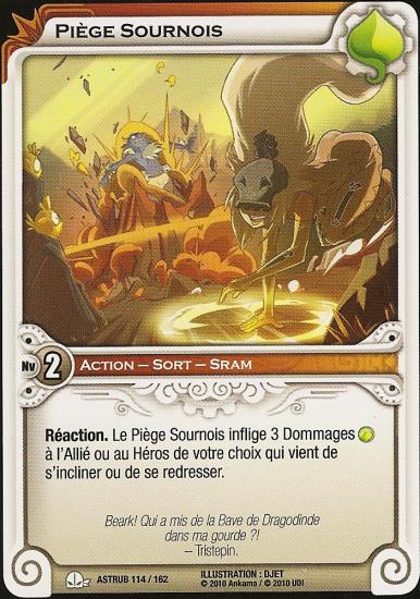 Piège Sournois - Astrub N°114