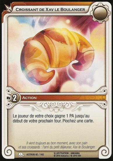 Croissant de Xav le Boulanger - Astrub 82/162