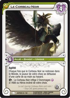 astrub, carte le Corbeau Noir