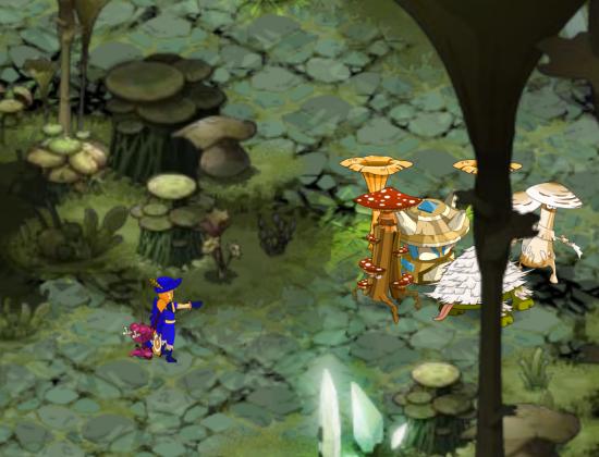 YS défie l'Ougah en donjon Fungus
